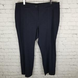 LAURA PETITES | stretch front leg seam pants
